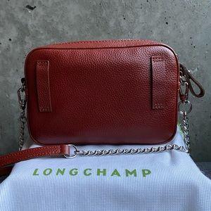 Longchamp Le Foulonné Crossbody/Beltbag - Chestnut